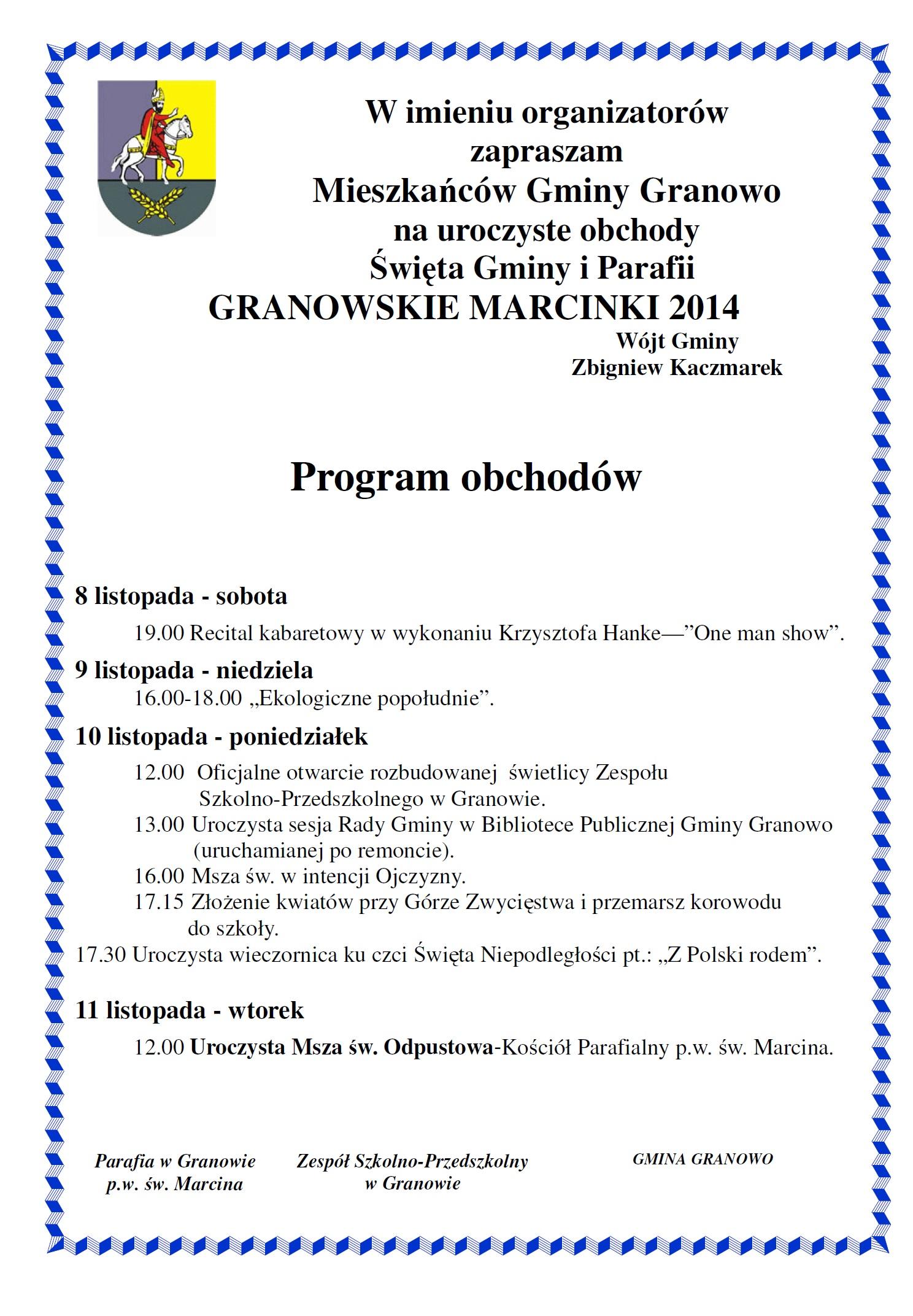 GRANOWSKIE MARCINKI